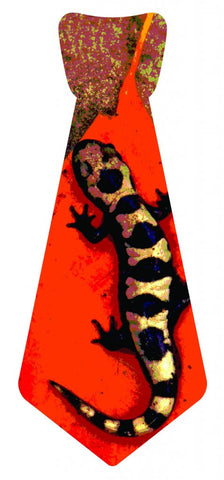 EvREwares Sticky Tie Lil' Guy Gecko Wearable Fabric Stickers