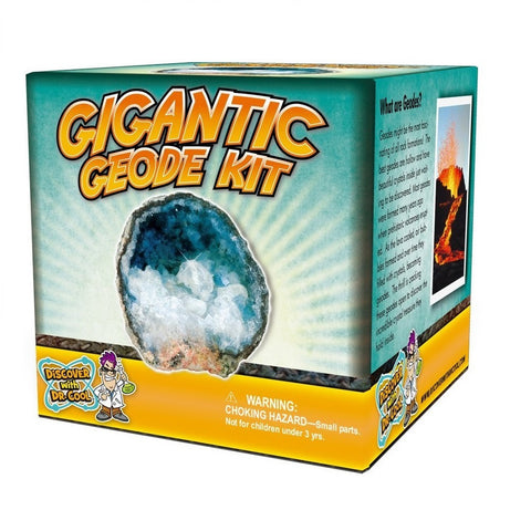 Gigantic Geode Rock Kit - Crack Your Own Geode, by Dr. Cool