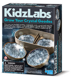 4M Grow Your Own Crystal Geodes Kit by KidzLabs