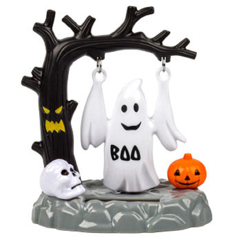 Solar Powered Swinging Halloween Ghost - Swings in Sunlight