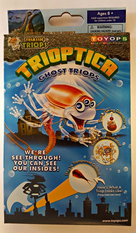 Trioptica Ghost Triops Egg Starter or Refill Kit by ToyOps