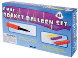 Giant Rocket Balloon Gift Pack Set