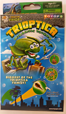 Trioptica Gigantic Triops Egg Starter or Refill Kit by ToyOps