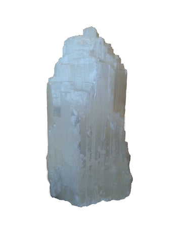 Satin Spar Selenite Large Glacier Lamp