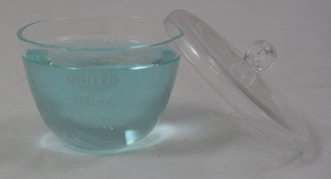 100ml Quartz Glass Crucible with Lid