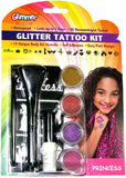 Glimmer Body Art - Glitter Tattoo Kit- Princess