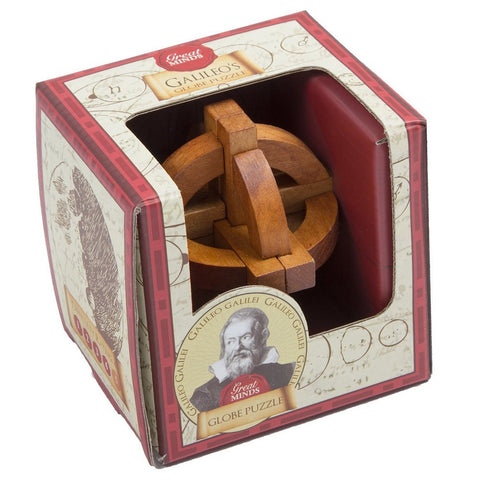 The Great Minds - Galileo's Globe Wooden Puzzle
