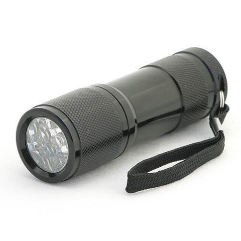 Ultraviolet Flashlight 9 LED Blacklight - Good with Glo Germ Simulated Germs