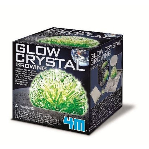 Glow Crystal Growing Experiment Kit by 4M