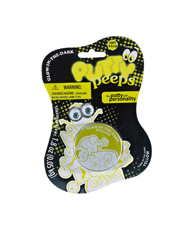 Putty Peeps Glow In The Dark Yellow by Little Kids