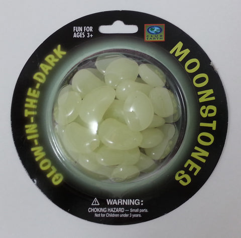 Club Earth - Glow in the Dark - MoonStones - 30 Pieces