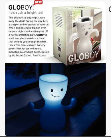 GloBoy Solar Powered Nightlight