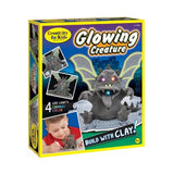Creativity for Kids - Glowing Creature Clay Craft Kit by Faber-Castell