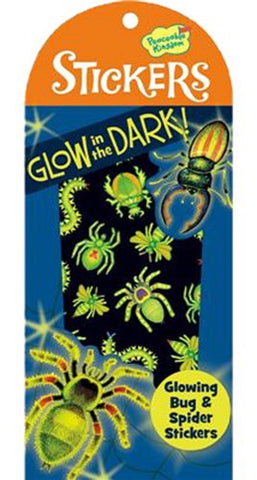 Glowing Bugs & Spiders Glow in the Dark Stickers