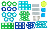 Geomag Panels Classic Magnet Construction Set - 180 Piece Magnetic Kit - STEM Compatible