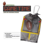 Football Game Time Clip-On Portable Sports