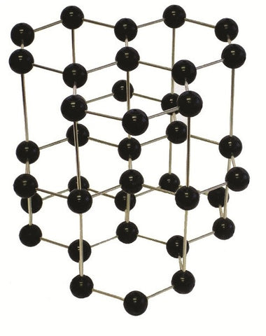 Pre-assembled Molecular Model Set: Graphite Crystal