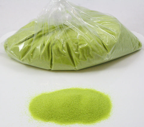 Neon Yellow Space Sand: 5lbs of Bulk Hydrophobic Sand