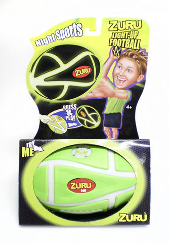 Night Sports Light-Up Football/ Flashing Green Glow by Hedstrom Toys
