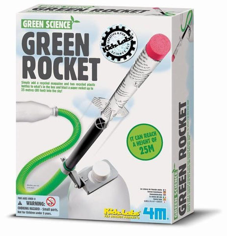 Green Rocket Kit 4M Green Science Using Air & Water