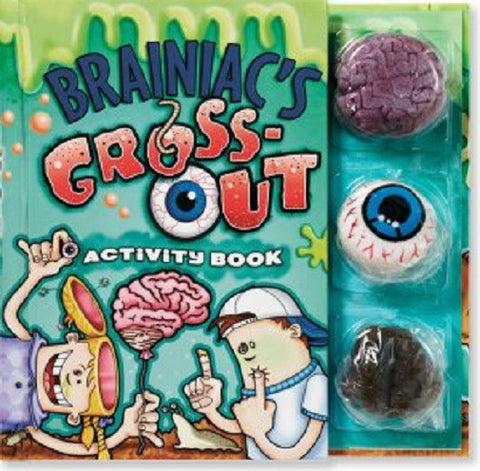 Brainiac's Giant Book of Gross-Outs Activitiy Book