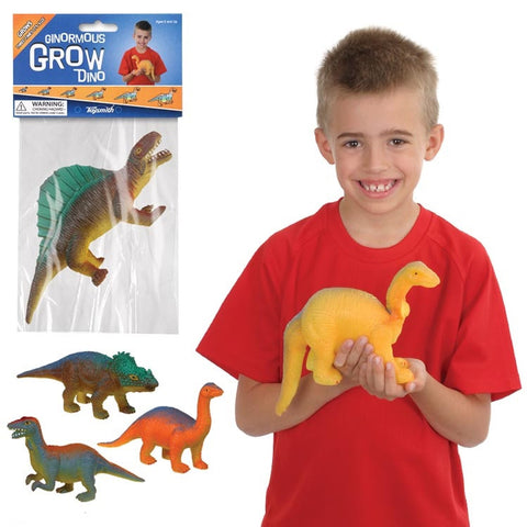 Ginormous Magic Growing Dinosaur Grows 5.5 to 14 inches