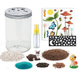 Creativity for Kids - Grow N Glow Terrarium Kit - By Faber-Castell