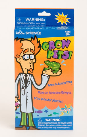 Cool Science: Grow Pets Activity Kit Growing Shapes