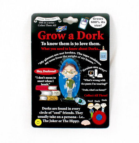 Grow a  Dork: Collectible Magic Growing Thing