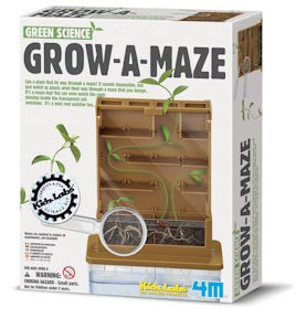 Grow A Maze - 4M Green Science Activity Kit With Seeds