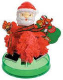 Amazing Crystal Growing Santa Claus Toy Christmas