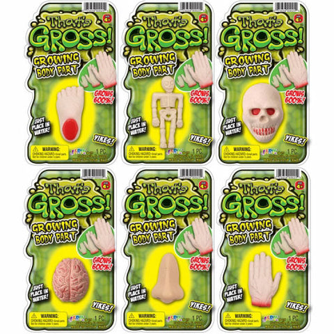 That's Gross! Growing Body Part 6-Piece Bundle
