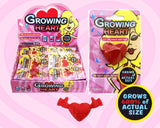 Growing Heart Novelty Grows for Days - Pack of 6