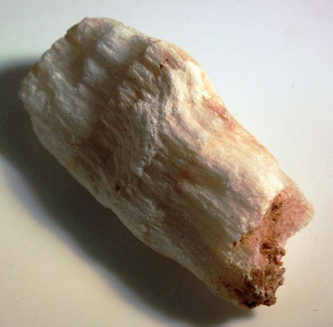 White Fibrous Gypsum: Selenite Satin Spar - 2 Pieces of Mineral - Rock Specimen