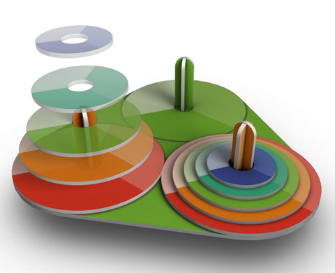 The Tower of Hanoi Logic Puzzle - Classroom Set