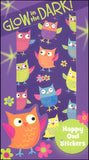 Happy Owls - Glow in the Dark Stickers