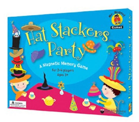 Hat Stackers Party Magnetic Memory Game Ages 3+