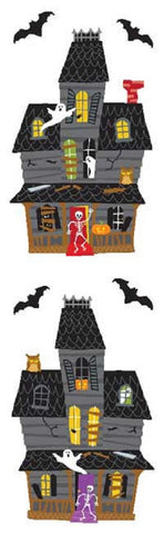 Mrs. Grossman's Stickers - Halloween Haunted Mansion