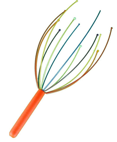 Rainbow Scalp Sensation Head Massager by DCI (Assorted Colors)