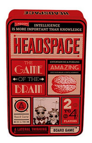 Headspace - A Lateral Thinking Board Game in a Tin by Lagoon
