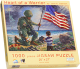 Heart of a Warrior - Jigsaw Puzzle - 1000 pc