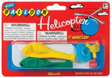 Classic Whistle Balloon Helicopter - Air Powered Flight