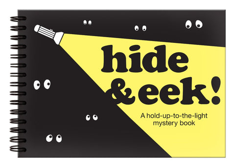 Hide & EEK Hold-Up-To-the Light Mystery Book