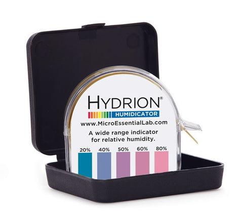 Hydrion Humidicator Paper - Relative Humidity Testing