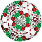 9 inch Classic Kaleidoscope Viewing Toy: Christmas Holly Chroma Vision