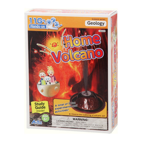 Home Volcano Experiment Kit and Study Guide By Artec