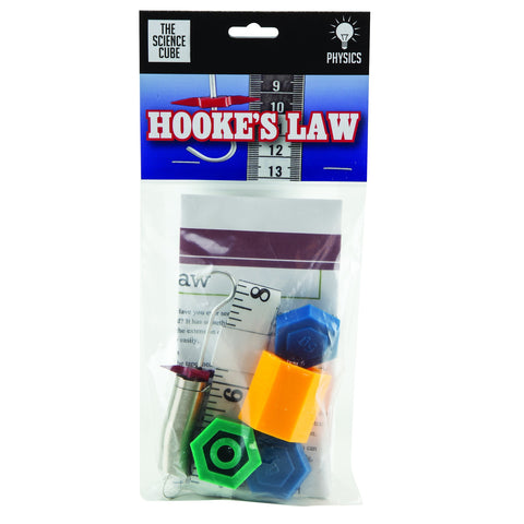 The Science Cube: Hooke's Law Science Kit