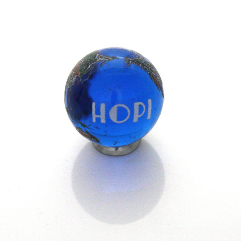 World Peace Earth Marble - Hopi - 22mm