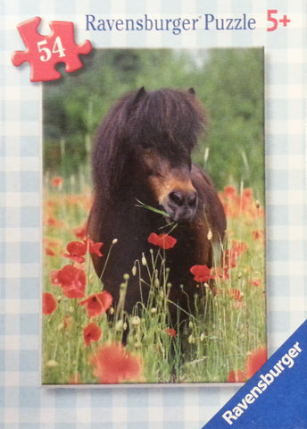 Horses Mini Jigsaw Puzzle 54 Piece - Set of 3 Assorted Styles