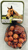 Horse Game Net Set 25 Piece Glass Mega Marbles